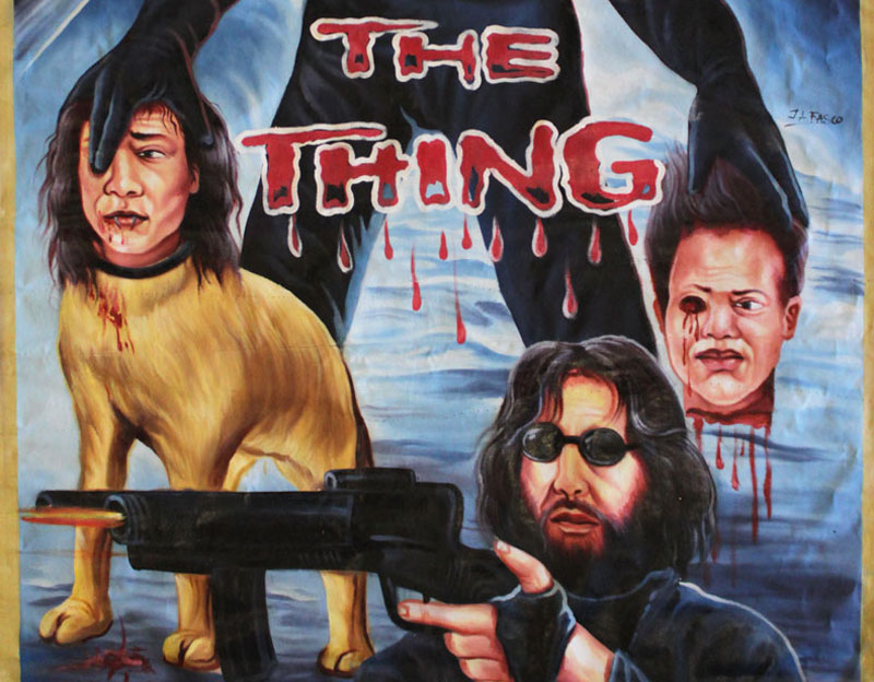 Affiches de film du Ghana : The Thing