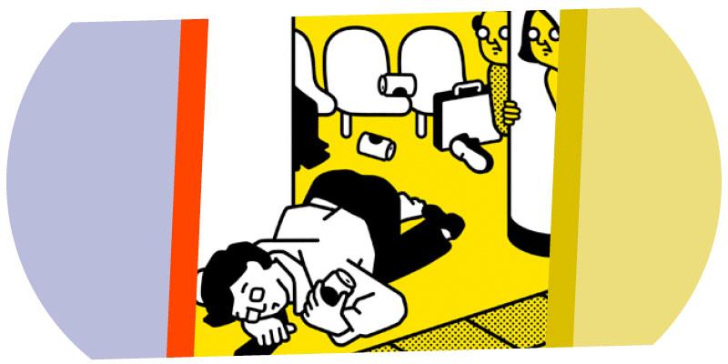 Please do it at home : Campagne de courtoisie métro de Tokyo