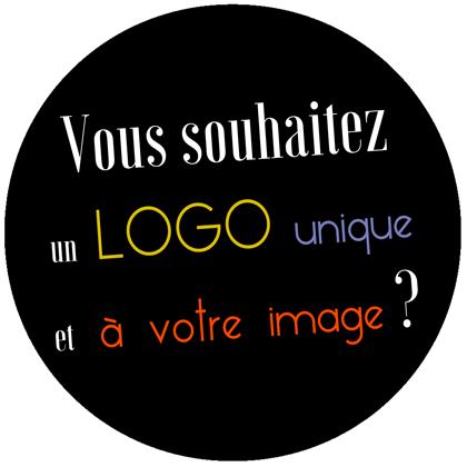 Vous souhaitez un logo unique et à votre image ?