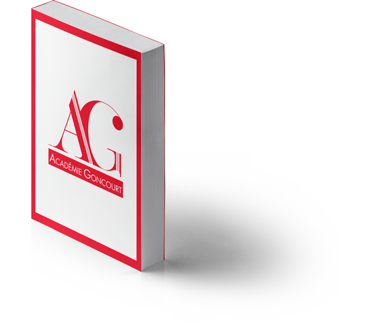 Logo Académie Goncourt - Livre 2 - Mitaki Design