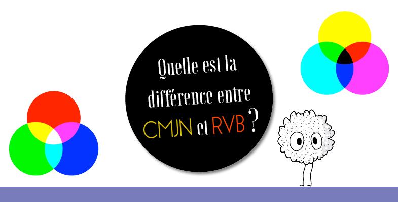 Graphisme : quelle est la différence entre RVB et CMJN ?