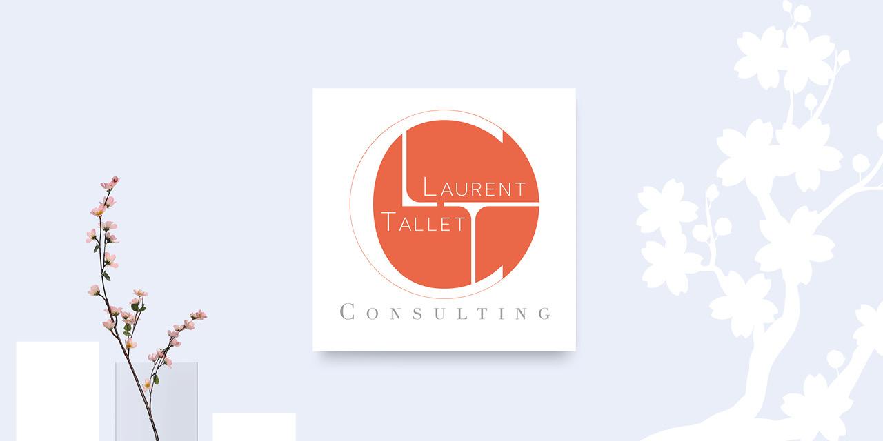 Création logo LTC Consulting Mitaki Design, graphiste Avignon