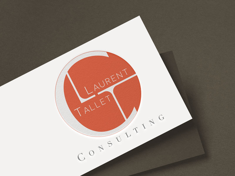 Création logo LTC Laurent Tallet Consulting Mitaki Design,