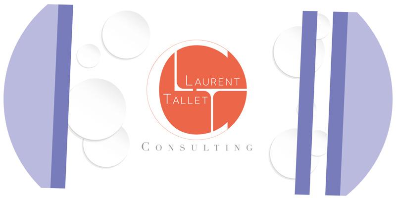 Identité visuelle, logo, Laurent Tallet Consulting, Mitaki Design graphiste Avignon