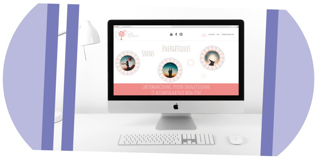 Création site ecommerce Julie Guidances, Mitaki Design graphiste & webdesigner Avignon