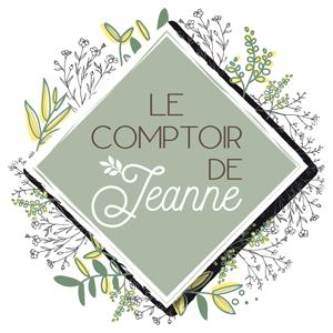 Logo Le comptoir de Jeanne, boutique de produits naturels à Cavaillon