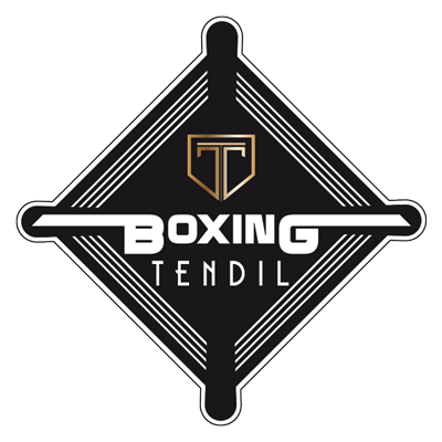 Création logo boxe Christophe Tendil Isle sur Sorgue par Mitaki Design